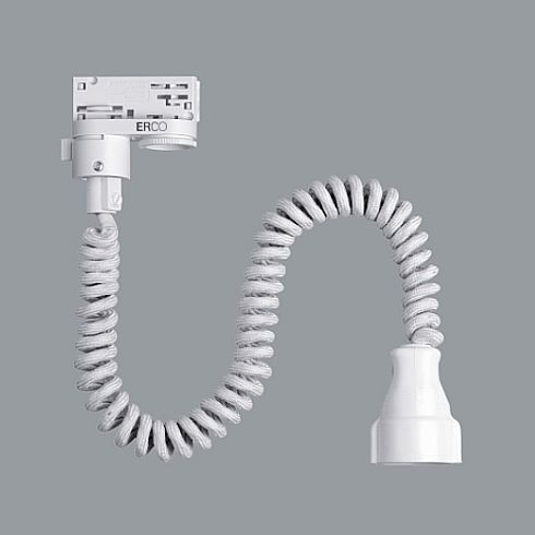 79053 000 Adapter White For Erco 3 Circuit Track System